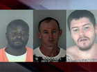 Manhunt underway for 3 escaped Florida inmates