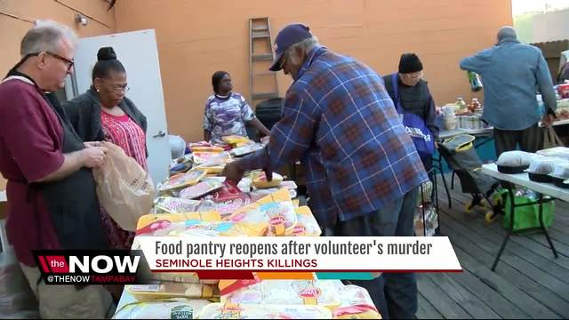 Food Pantry resumes after volunteer becomes 4th victim of Seminole…