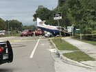 Small airplane down on Keene Rd. N. in Pinellas