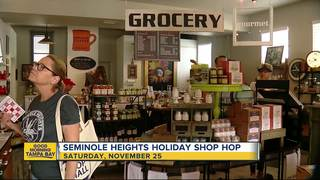 Seminole Heights Holiday Shop Hop in spotlight