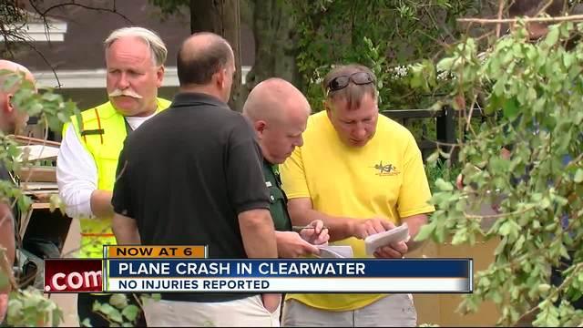 Small plane crash in Pinellas County