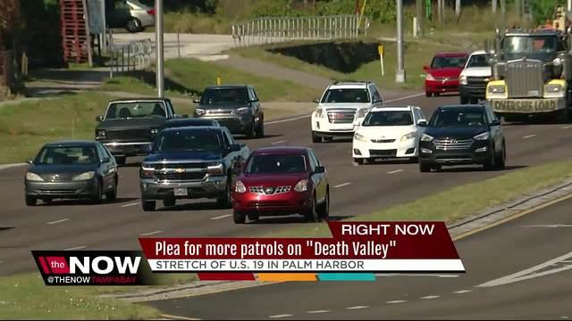 Drivers along US 19 beg for more deputy enforcement to make the highway safer