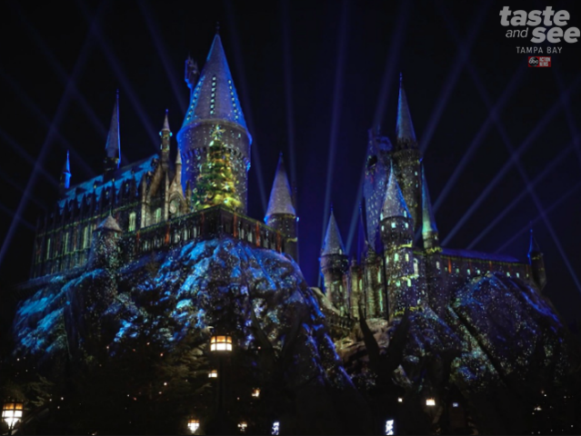 hogwarts is here to welcome you home at the very first wizarding christmas open to all muggles