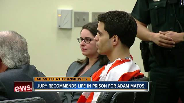 Adam Matos sentenced to life in prison