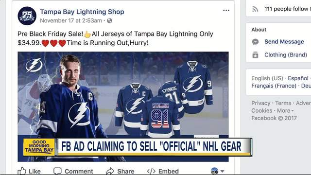 Dubious sponsored Facebook ad promises deep discounts on -official-…