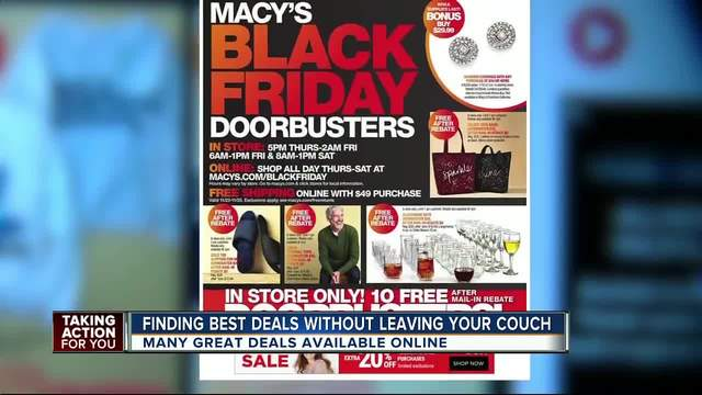 Where to get doorbusters online this Black Friday
