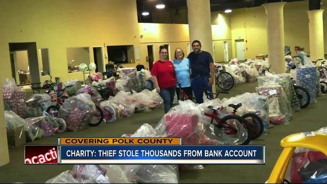 Thieves steal thousands from Polk charity for kids