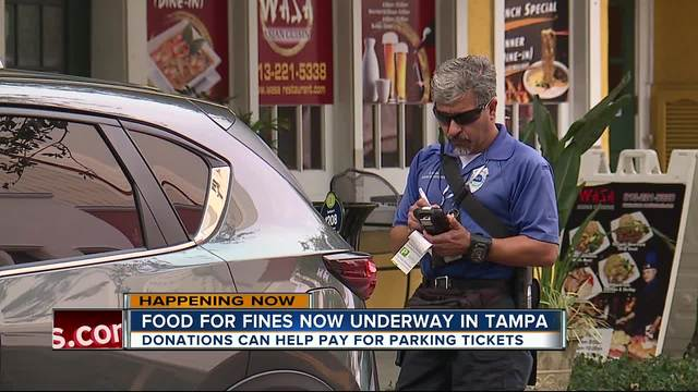 Pay less for parking tickets- help those in need