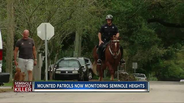 Mounted police to patrol frightened Tampa neighborhood