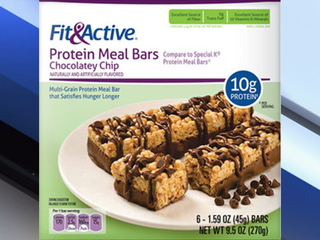Protein bars sold at Aldi voluntarily recalled