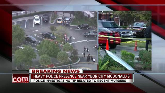 Tampa Police questioning person- have gun that may be related to…