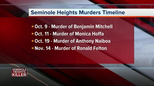 Seminole Heights Murders Timeline- The four murders and the arrest of…