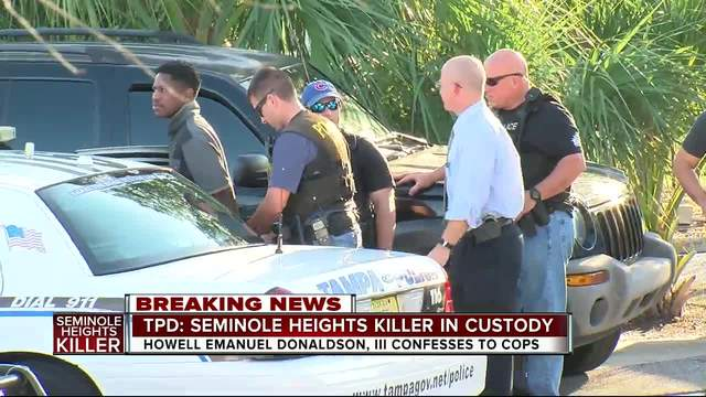 TPD- Seminole Heights suspect arrested