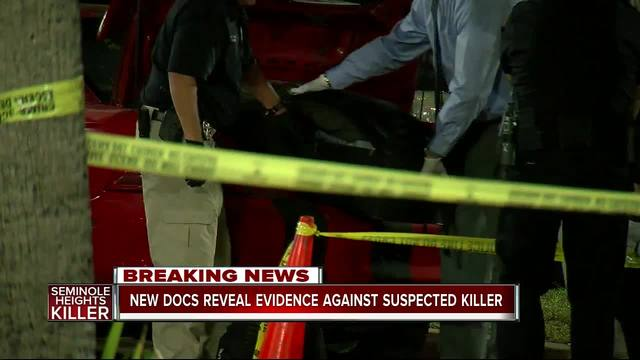 Suspected Seminole Heights Killer booked into jail on Wednesday morning