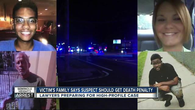 Victim-s family says suspect should get death penalty