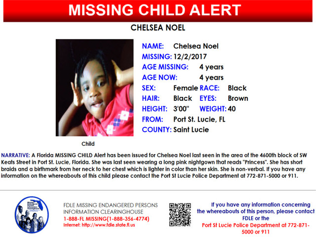 Police search for missing 4-year-old