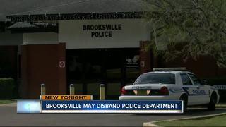 Brooksville rallies to keep police department