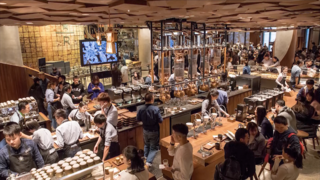 PHOTOS: World's largest Starbucks opens in China