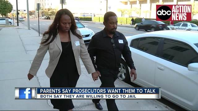 Parents of accused Seminole Heights killer refuse to answer prosecutors-…