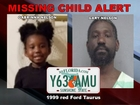 Father in Missing Child Alert remains on the run