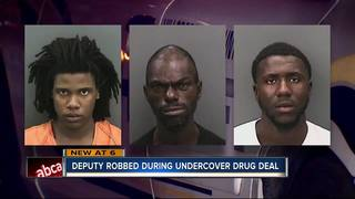 Undercover deputy robbed at gunpoint
