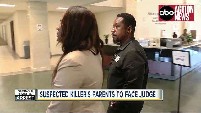 Suspected killer-s parents to face judge on Thursday