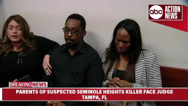 Parents of suspected Seminole Heights killer face judge
