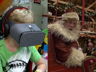 Virtual reality taking ill kids to North Pole