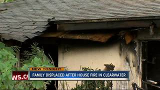 House fire in Clearwater