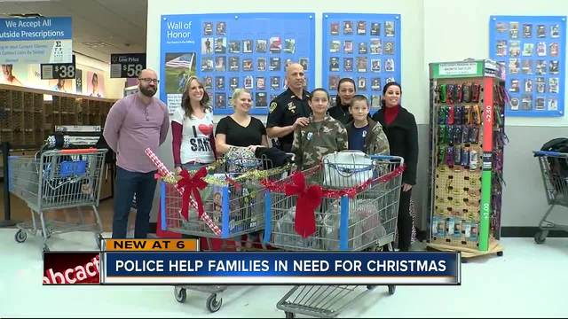 Brooksville police help needy families buy Christmas gifts for kids