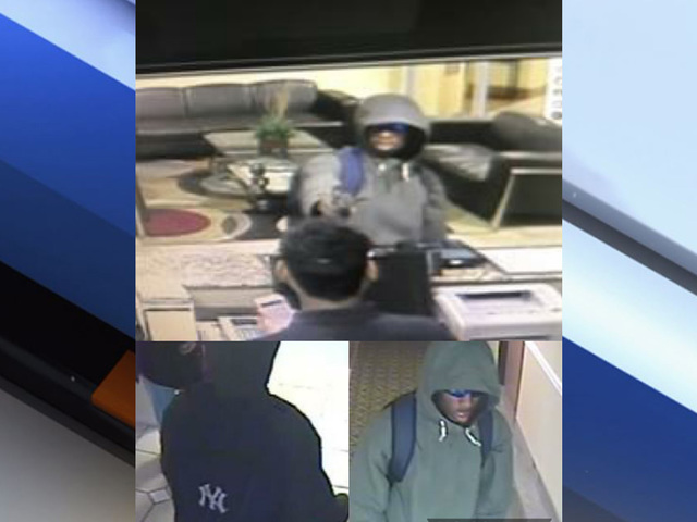 Tampa Police searching for hotel robberies suspect