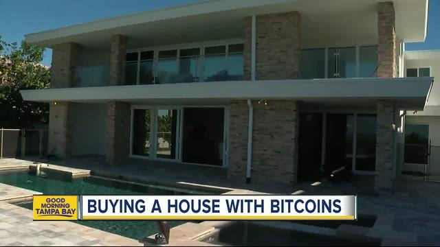 Local realtors selling Tampa Bay Beach house for 250 Bitcoin--- or -4 million