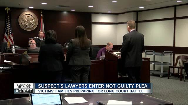 Attorney of accused Seminole Heights killer enters not guilty plea on…