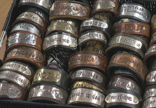 Echo Handmade jewelry benefits food pantry