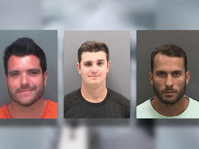 Judge drops charges against one suspect in shark dragging video case