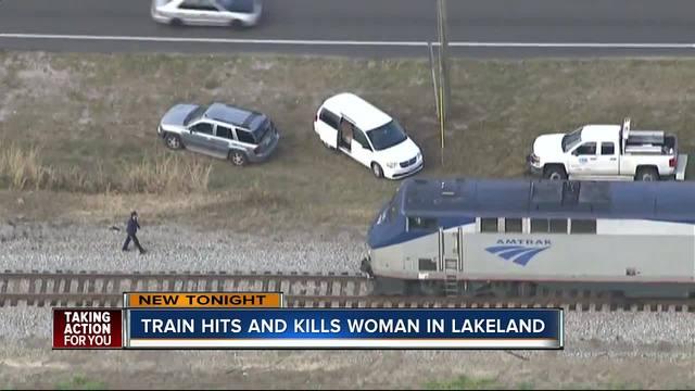 Deputies investigate after woman hit- killed by Amtrak train in Lakeland