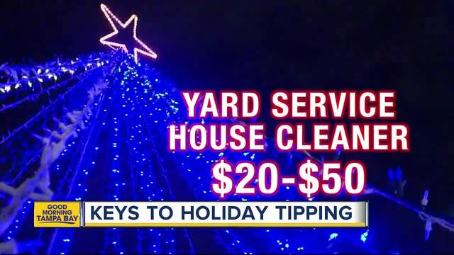 Here-s a holiday tip for you- Who- and how much- to tip people this season