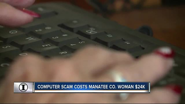 Computer scam costs Manatee Co- woman -24K - WFTS Investigative Report