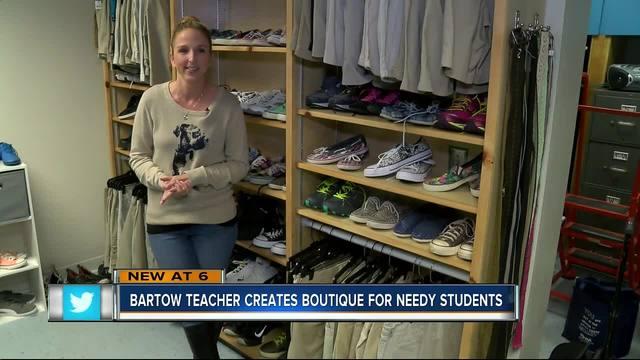 Bartow teacher creates boutique for needy students