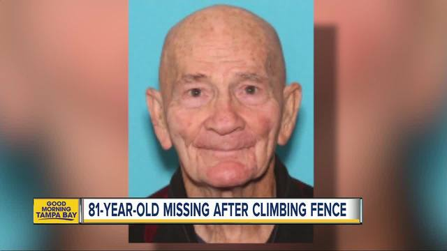 81-year-old man missing after climbing 6-foot fence at Lakeland assisted…