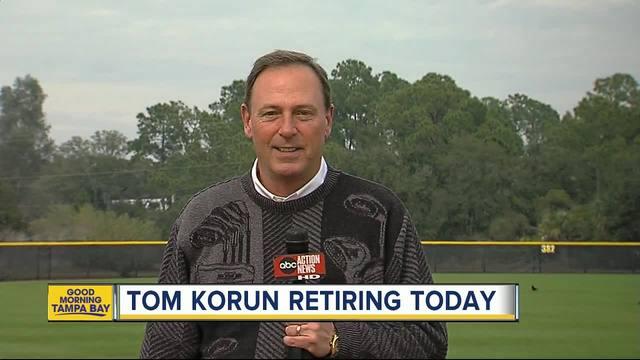 Longtime sportscaster Tom Korun retires from ABC Action News