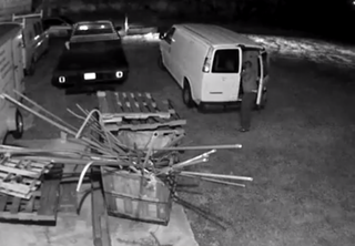 Deputies search for Mulberry copper thief