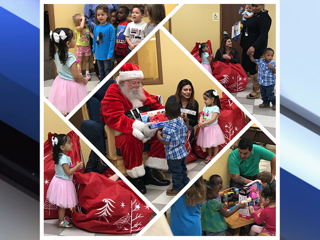 Local Couple Surprises Kids At Lakeland Salvation Army