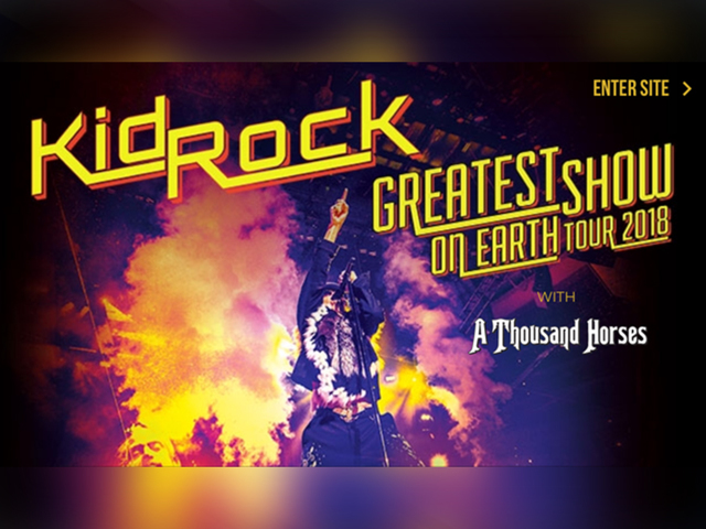 Circus owner sues Kid Rock for using 'Greatest Show On Earth' slogan