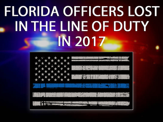 FL officers lost in the line of duty in 2017