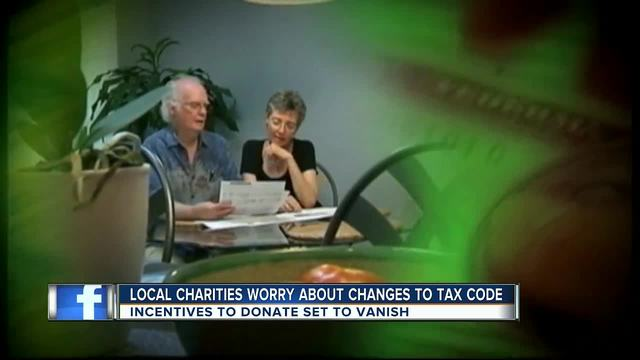 New tax code leads to increase in charitable donations