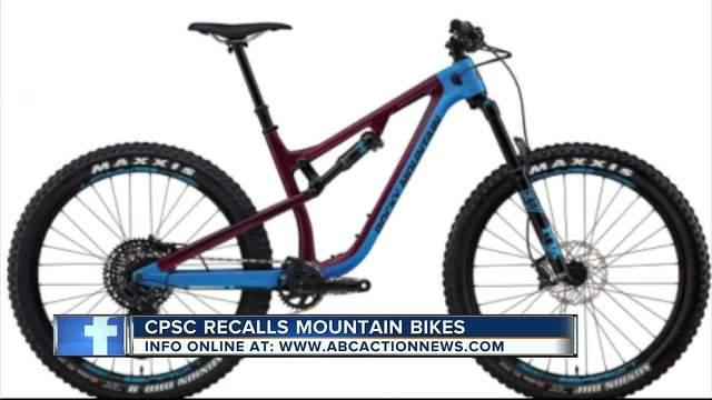 Rocky Mountain Bicycles Recall Mountain Bikes Due To Crash Hazard