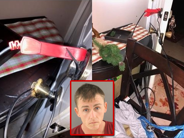 Flagler County man rigs door in an attempt to electrocute his wife