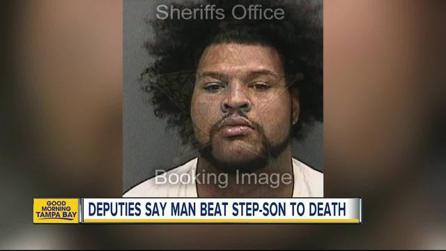 Man accused of beating stepson to death over cookie