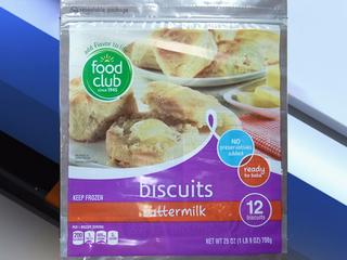 Several frozen biscuit brands recalled